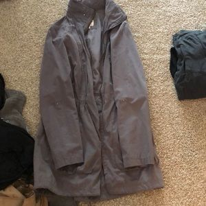Missing utility jacket dark grey